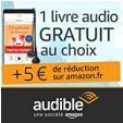 Offre de Pâques : 5€ de réduction sur Amazon + 1 livre audio gratuit @ Amazon
