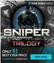 [PC/Steam] Sniper: Ghost Warrior Trilogy à 0.89€ au lieu de 18.99€ @ Fanatical