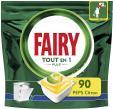 Paquet de 90 pastilles pour lave-vaisselle Fairy Peps citron à 6.61€ (Avec coupon et abonnement) @ Amazon