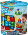 Mega Bloks Sac Bleu, jeu de blocs de construction, 60 pièces à 5.99€ au lieu de 12.99€ @ Amazon
