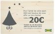 20€ en bon d'achat pour l'achat d'un sapin (Nordmann à 24,99€) @ IKEA