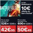 Bon plan Carrefour : Préco Battlefield 2042 sur Ps4 / Xbox One à 52.95€ et Ps5 / Xbox Séries X à 60.49€ + 10€ en bon d'achat