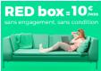 Box Internet Red pour 10€ par mois à vie via ShowRoom privé
