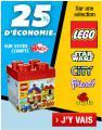 -25% sur la cagnotte sur Lego et Vtech @ Auchan