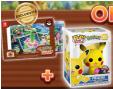 Préco New Pokemon Snap sur Switch = 1 Funko Pop Pikachu floquée + cadre photo offerts @ Micromania