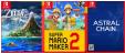 5 à 15€ en chèques cadeaux pour la préco des nouveautés Switch (Zelda Link's Awakening, Fire Emblem Three Houses, Mario Maker 2...) @ Fnac