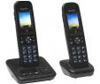 Bon plan Boulanger recherche : Pack Duo Téléphones sans fil Panasonic KX-TGH722FRB anti démarchage à 49.99€