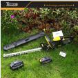 Taille Haie Electrique Sans Fil + Batterie + Chargeur à 79,99 @ Amazon