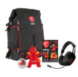 Sac à dos MSI- Y17 Dragon Fever SUMMER-GT pour PC 17,3 + casque audio MSI + lot de goodies Dragon Lucky à 29.99€ @ Rueducommerce