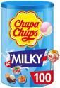 Chupa Chups - Tubo de 100 Sucettes Lait ou mélange de fruits 1.2Kg à 11.12€ au lieu de 19.99€ @ Amazon