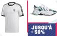 Jusqu'à -50% sur une sélection de chaussures et vêtements @ Adidas