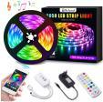 Ruban LED RGB Bluetooth 5 mètres avec synchro musicale à 16.19€ au lieu de 26.99€ @ Amazon (vendeur tiers)