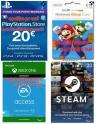 Bon plan eBay : 5€ de remise dès 15€ d'achat, ex : carte PSN 20€ à 14.99€, eShop 20€ à 15.99€