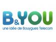 Forfait B&YOU 24/24 3Go 9€99/mois pendant un an au lieu de 19€99 @ Bouygues Telecom