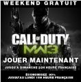 Bon plan  : [Steam] Week-end Gratuit sur Call of Duty : Modern Warfare 3