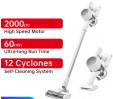 Bon plan Aliexpress : Aspirateur balai cyclonique Dreame T10 2 en 1, 2000PA, Autonomie 60mn à 178.5€ au lieu de 221€ depuis l'Europe