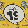 Bon plan Carrefour : Sélection de BD à 1€