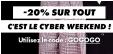-20% sur tout le site pendant le Cyber Weekend @Asos