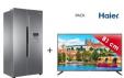 Réfrigérateur US 500 L + TV 32' Haier à 599.99€  @ Cdiscount