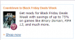 Amazon - Countdown to Black Friday Deals Week