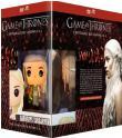 Bon plan Amazon : Game of Thrones - L'intégrale des saisons 1 à 4 + figurine Pop! Funko Version DVD à 36.99€