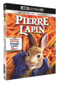 [Adhérent Fnac] Précommande : Pierre Lapin Blu-Ray 4K + 2D + Copie Digitale  à 24,99 au lieu de 29,99 euros @ Fnac