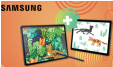 Une Galaxy Tab A7 offerte à l'achat d'une Galaxy Tab S7 ou S7+ et 100 à 150€ de remboursés @ Samsung