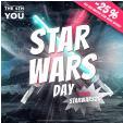 Aujourd'hui : 25% de remise sur les vêtements Star Wars @ SportOutlet