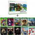 Console Xbox One S 1to Minecraft Creator + 10 Jeux à 229€ @ Auchan