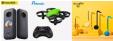 Bon plan Aliexpress : Vendredi 9h : Caméra action insta360 x2 à 331€, mini drone à 9.99€, Otamatone Instrument de musique électronique japonais à 16.67€