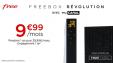 Forfait Freebox Révolution fibre ou adsl avec TV by CANAL à 9.99€ au lieu de 39.99€ pendant 1 an @ Veepee