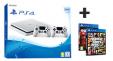 PS4 Slim + 2 manettes + GTA V + NBA 2K17 à 329€ au lieu de 429€ @ Leclerc