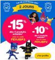 Les 20 & 21 Février -15% sur tout le site @ Toys'R'Us