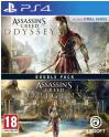 Double Pack Assassin's Creed Odyssey + Assassin's Creed Origins PS4 ou Xbox one à 29.99€ au lieu de 43.99€ @ Fnac