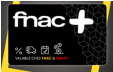Carte Fnac+ 1 an à 4.99€ au lieu de 14.99€ @ Fnac