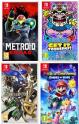 5€ à 10€ en chèques cadeaux adhérents sur les nouveautés Switch (Metroid Dread, Advance Wars 1+2, WarioWare,  Shin Megami Tensei V) @ Fnac